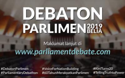 Parliamentary Debathon 2019 Launch