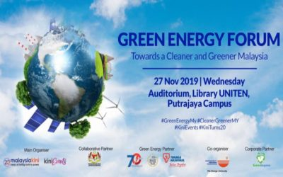 Green Energy Forum: Towards a Cleaner & Greener Malaysia